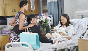 val and abe visit lani in the hospital
