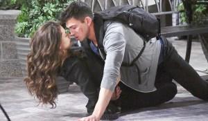ben and ciara almost kiss