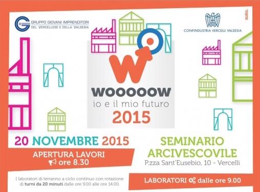 Soardo e Associati sponsorizza Wooooow 2015 – 2^ edizione