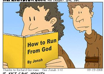 How to run from God