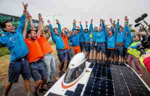 Nuna7 wint de World Solar Challenge 2013
