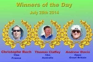 ZZ winners day 3