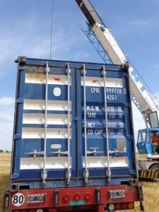 Chaves Dutch container from Corowa