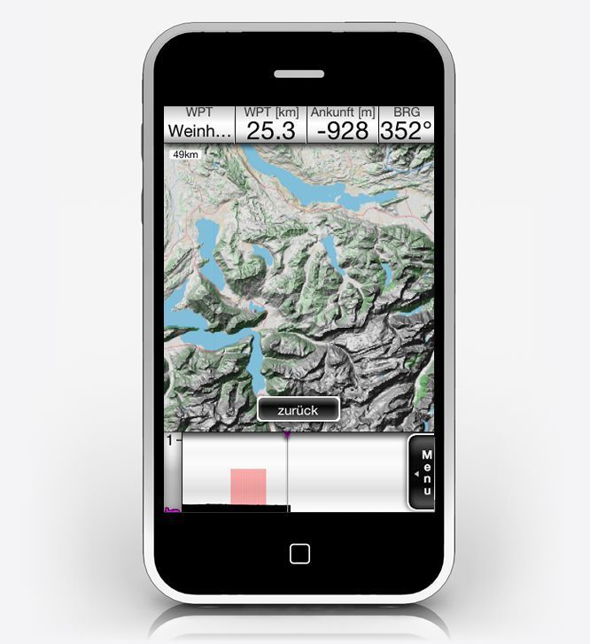 Announcing The IGlide Moving Map Software For The IPhone