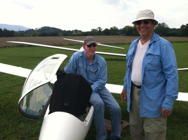 Messrs Paynter and Mittel (aka TA and BZ)—Photo by Rand Baldwin (NN)