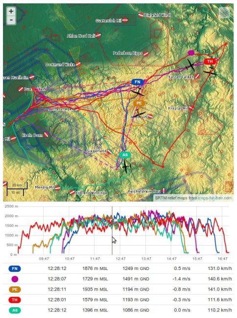 callsigns-on-map