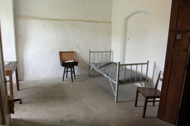 1 person POW WW-2 prison cell at the castle Colditz
