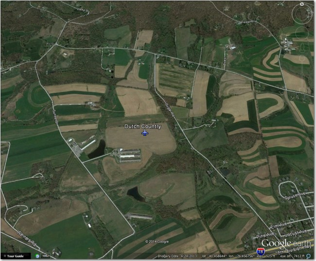 Dutch Country Airstrip:  Nothing there