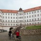 Main square and building at Colditz  castle POW WW-2 camp thumbnail