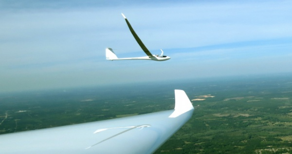 Flying next to Concordia at the 2014 Region V North contest at Perry,  SC