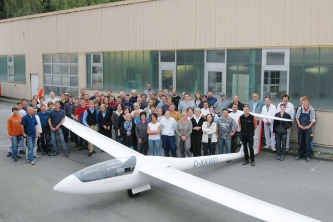 75th anniversary at Schempp-Hirth in 2010