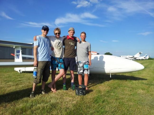 Straubing's young pilots... thanks for your help!
