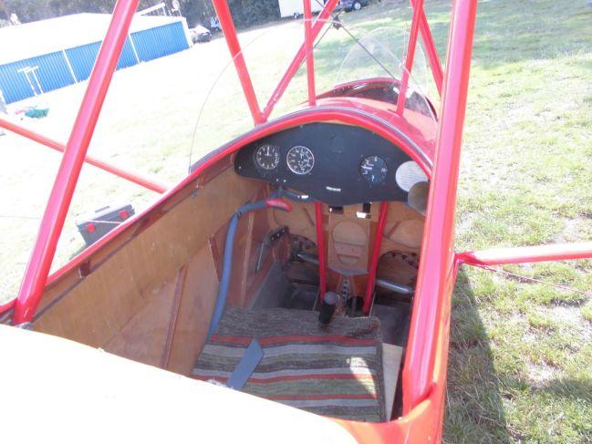 Cimbora's back seat