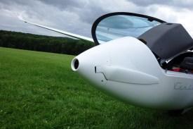 Foldable nose-propeller