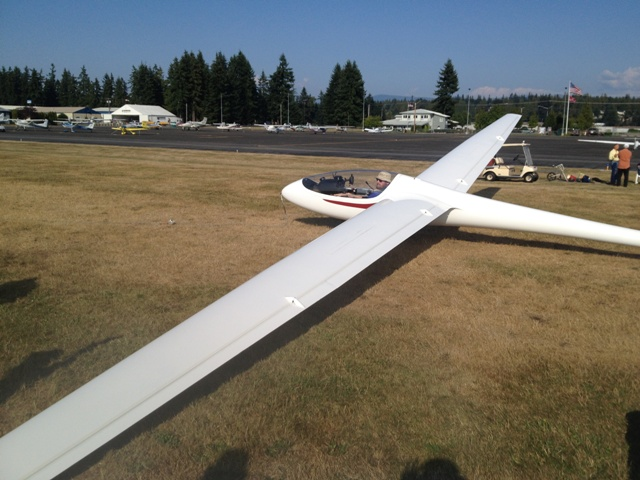 Flying the HP-24 image 1