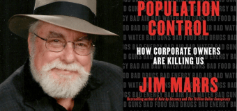 SER 72 – Jim Marrs – Population Control: How Corporate Owners Are Killing Us