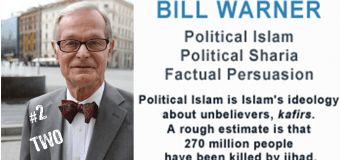 SER 98 – Bill Warner – Islam Is a Political Satanic Ideology