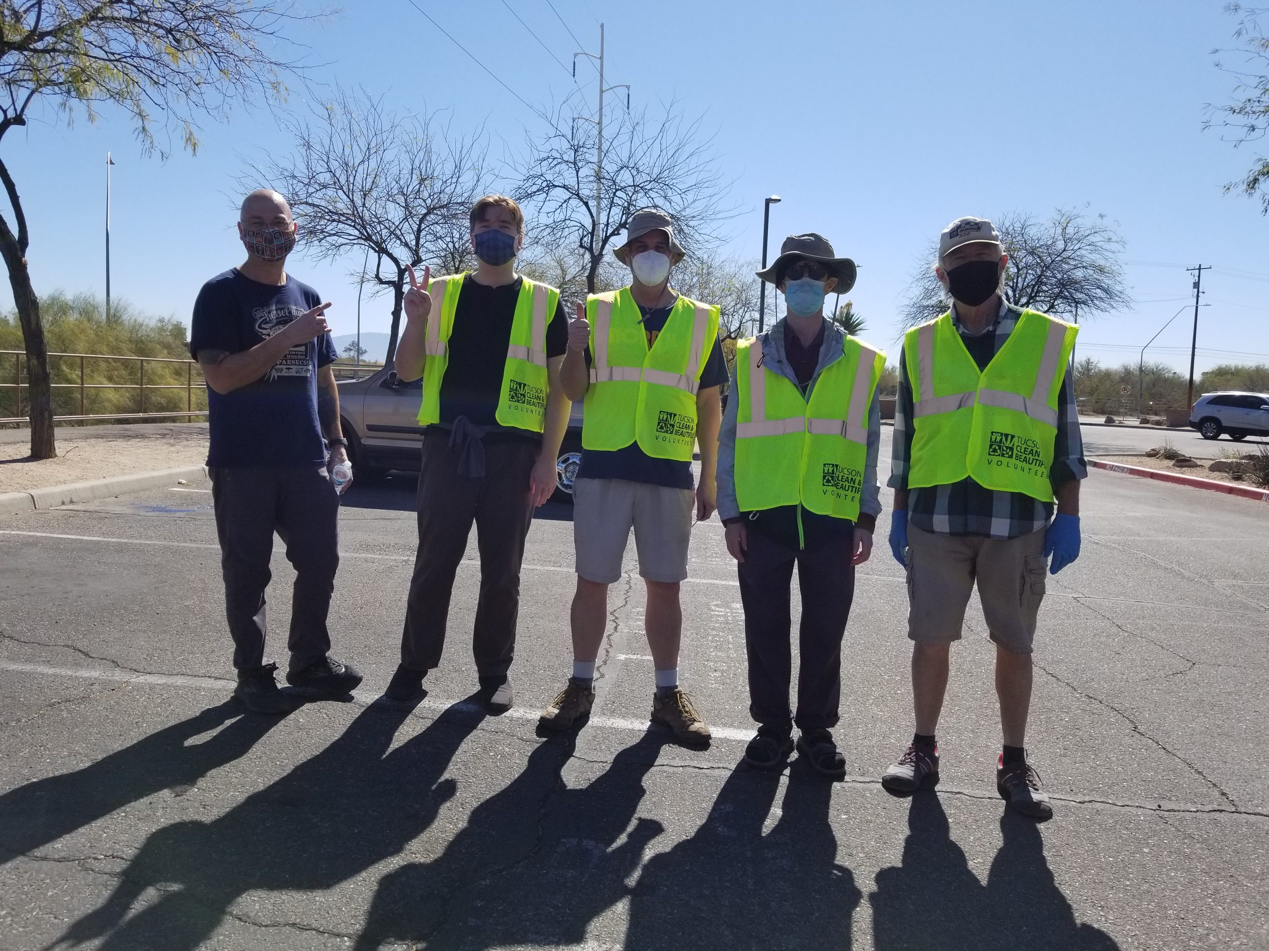highway cleaning of campbell avenue tucson clean and beautiful
