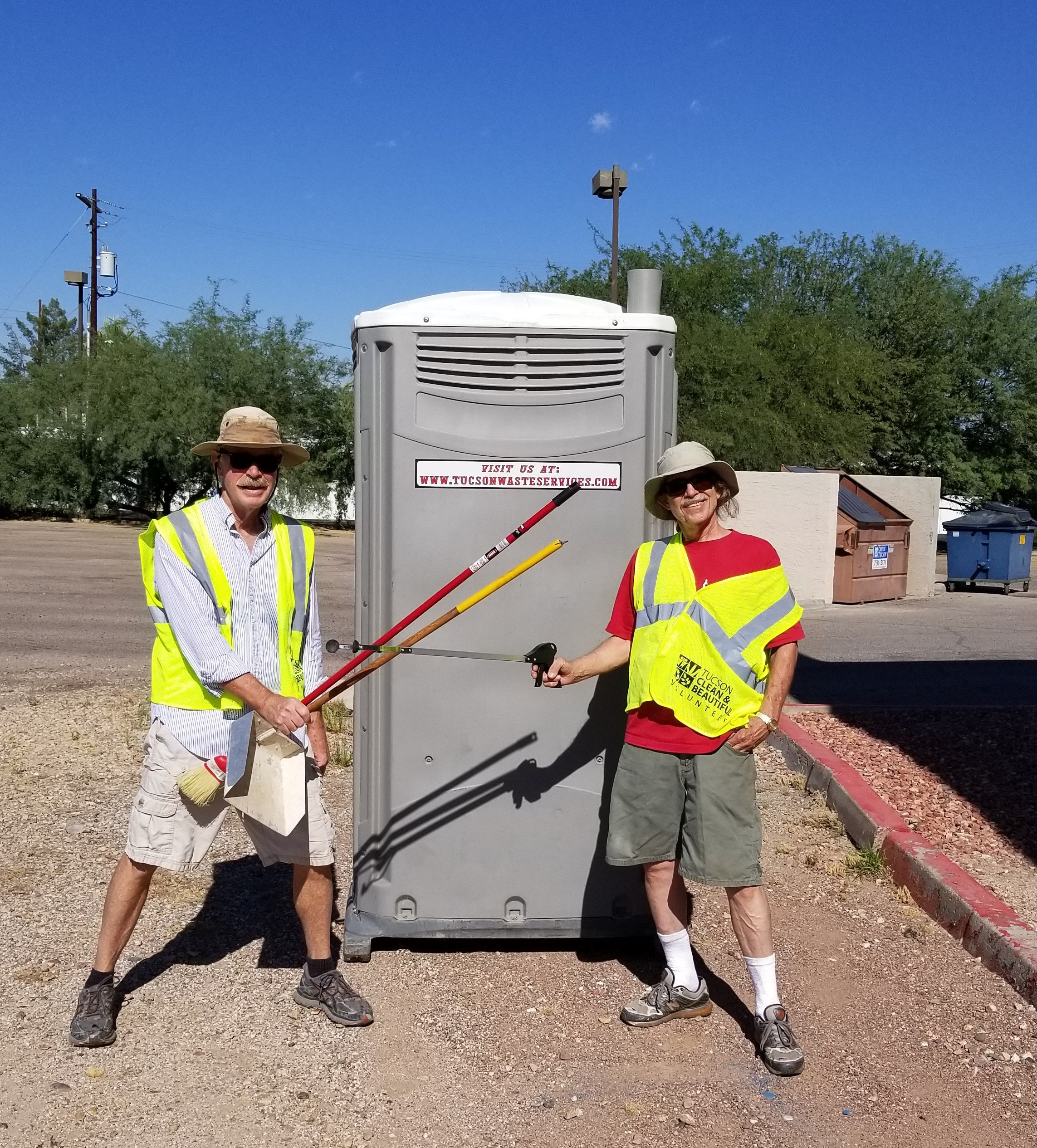 Volunteers Highway Cleaning Southern Arizona NORML