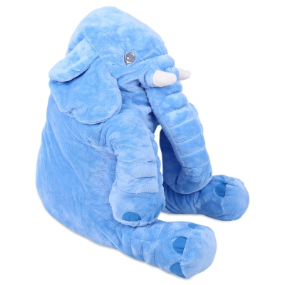 sobababy blue elephant pillow