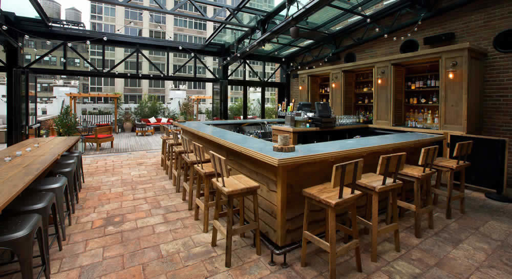Refinery Rooftop Bar New York 3 Ambiances Diffrentes