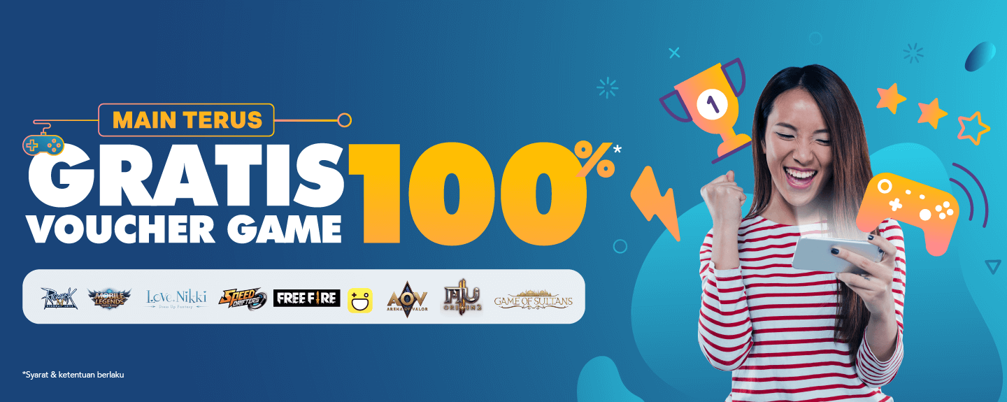 Mantap Promo Dana Gratis Voucher Game 100