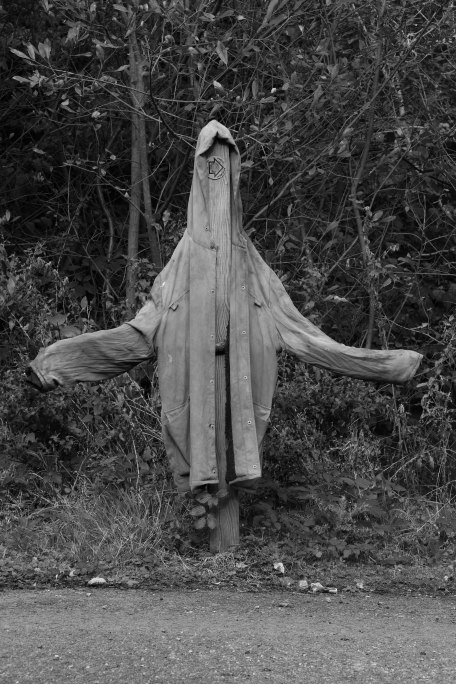 Creepy Coat. Copyright Fiona Michie.