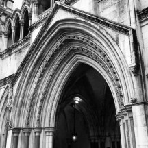 Day 25: Entrance to the Royal Courts of Justice