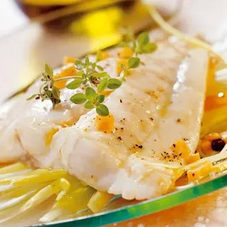poisson papillote julienne