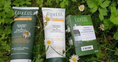 Luxéol Pousse croissance et fortification et son duo de shampooings réparateurs