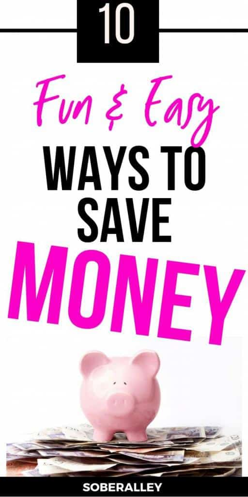 Wanna save money? Learning how to save money is one of the best ways you can take control of your financial future! Check out these 10 tips to save money now