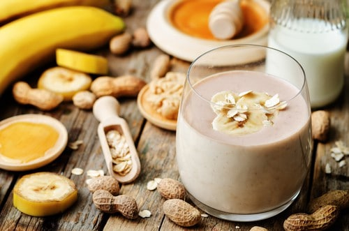 banana peanut butter weight loss smoothie