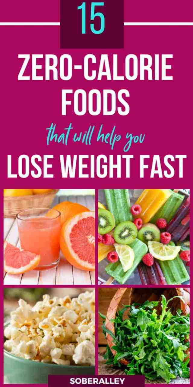 Zero calorie food for fast weight loss is real! These low-calorie, healthy foods, fruits, veggies and snacks will make a great addition to your healthy weight loss diet plan. Healthy nutrition is key if you want to lose weight quick the healthy way.