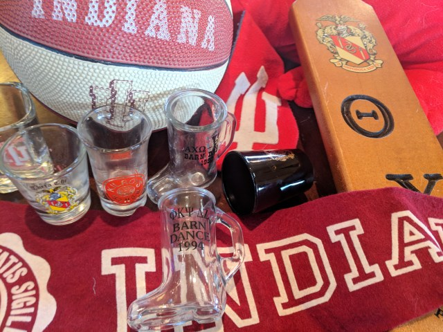 Shot Glasses & Basketball Swag from My Four Years in College