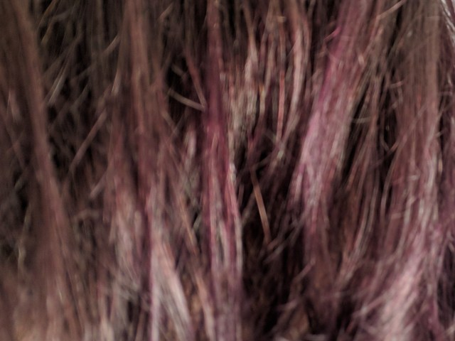 My Poppin' Purple Hair