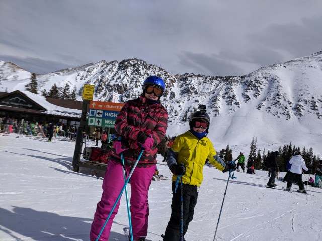 Family Ski Day at A-Basin