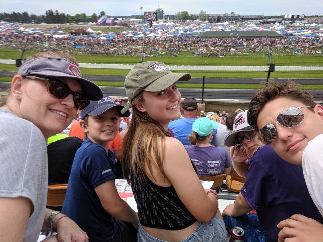 My Family at the Indy 500 2019