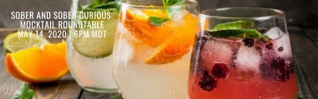 Sober Evolutionaries Mocktail Roundtable