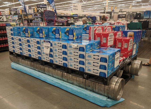Huge Beer Display