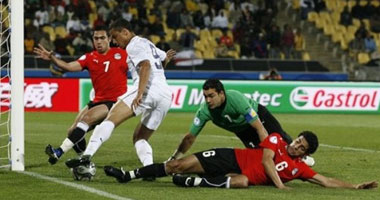 The Egyptian team making fools of themselves!