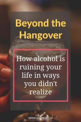 I never realized how much damage alcoholism was doing