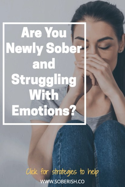 Learn how you can tackle difficult emotions in early sobriety