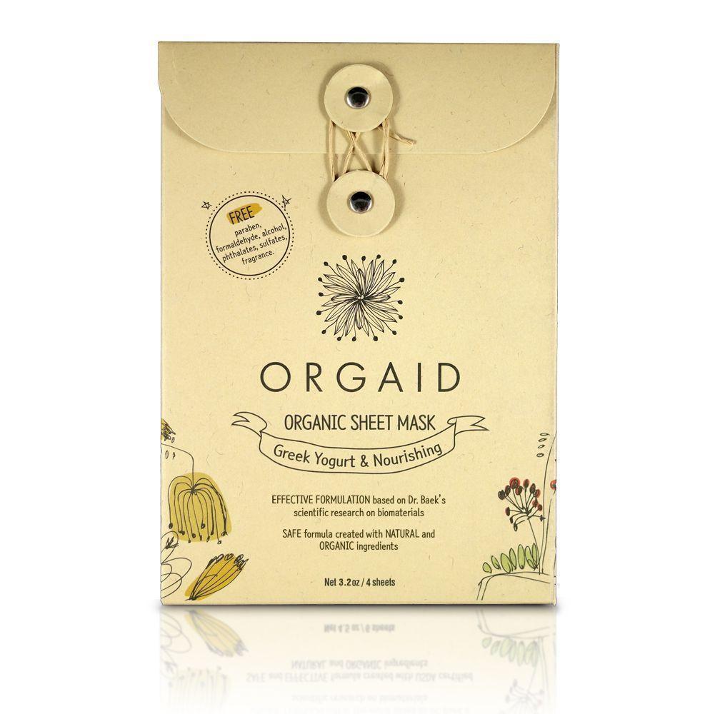ORGAID Odżywcza Maska Jogurt Grecki SoBio Beauty Boutique pojedyncza