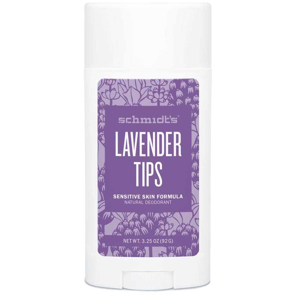 SCHMIDT'S Lavender Tips Dezodorant dla skóry wrażliwej | SoBio Beauty Boutique