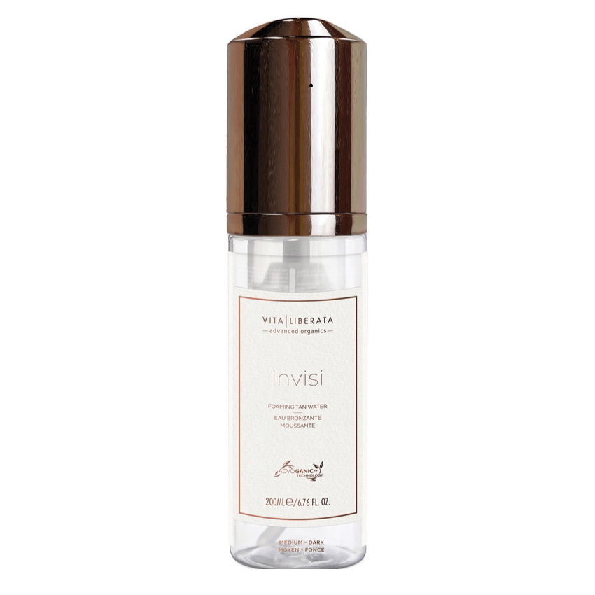 Vita liberata INVISI FOAMING TAN WATER - MEDIUM:DARK