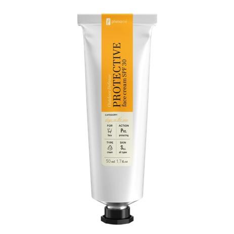 PHENOME PROTECTIVE face cream SPF 30   SoBio Beauty Boutique