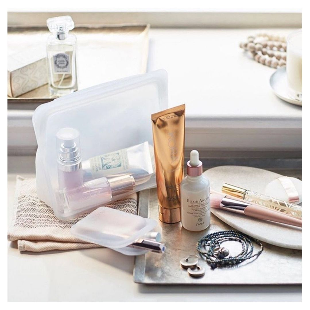 STASHER Stand Up Wielorazowa torebka silikonowa | SoBio Beauty Boutique 5