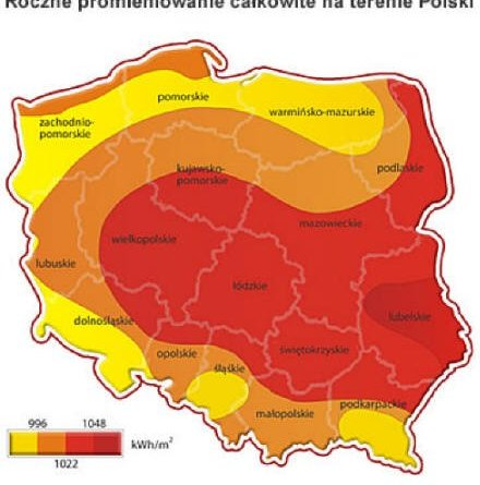 Energia słoneczna w Polsce i sprawdzenie możliwości jej wykorzystania.