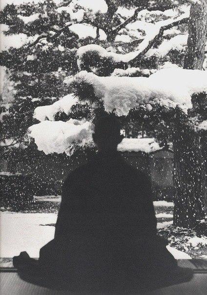 медитация снег