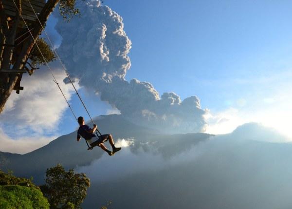 качели вулкан
